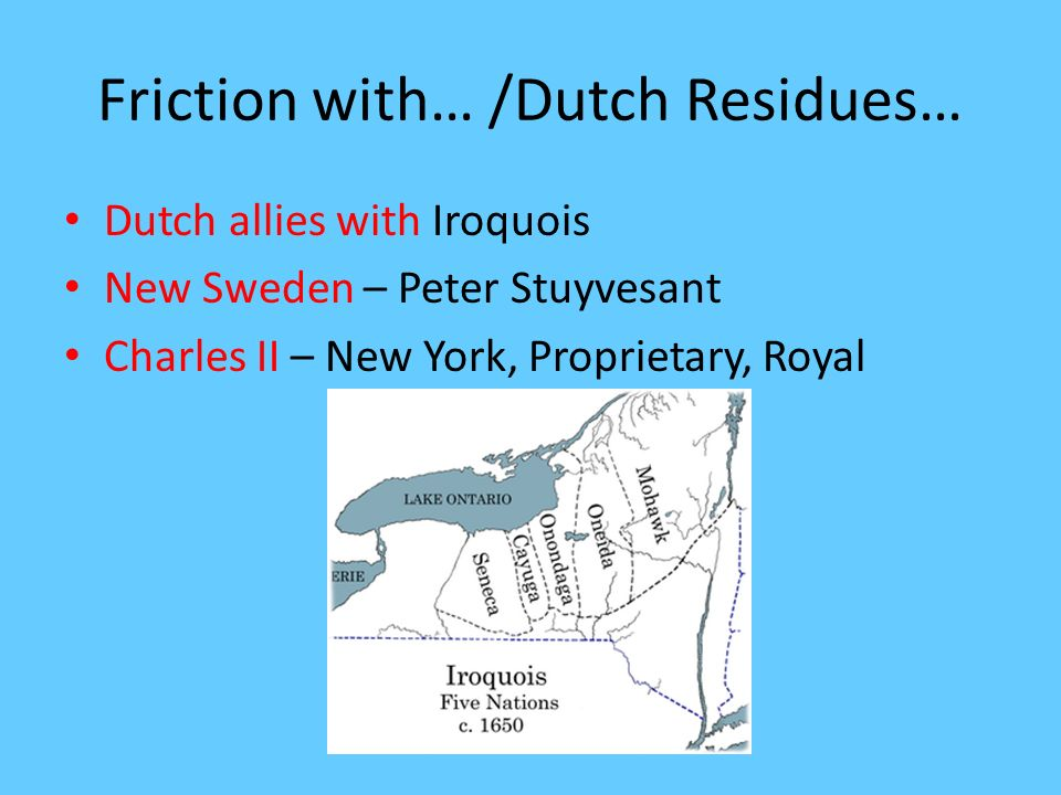 Friction with… /Dutch Residues…