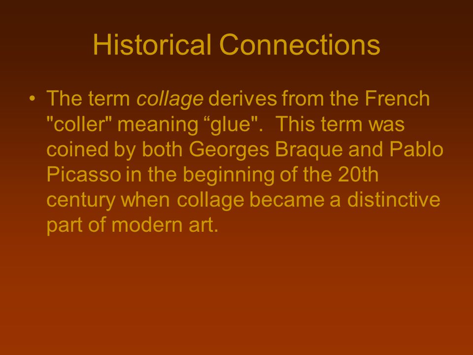 Historical Connections