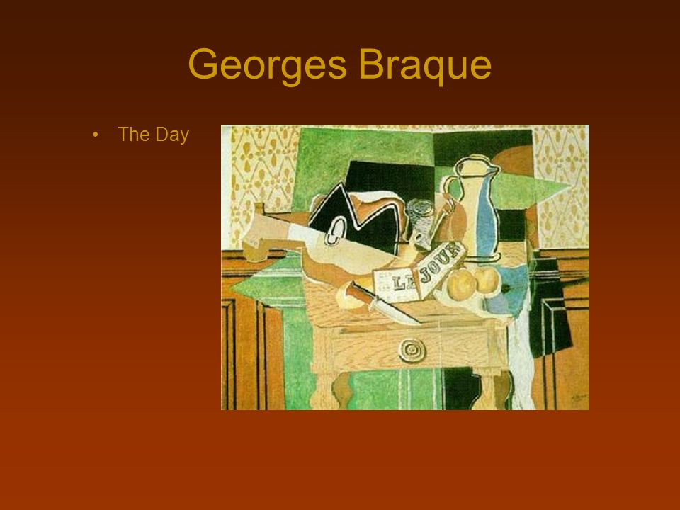 Georges Braque The Day