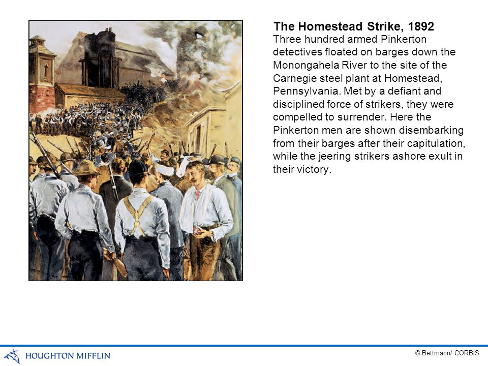 The Homestead Strike, 1892