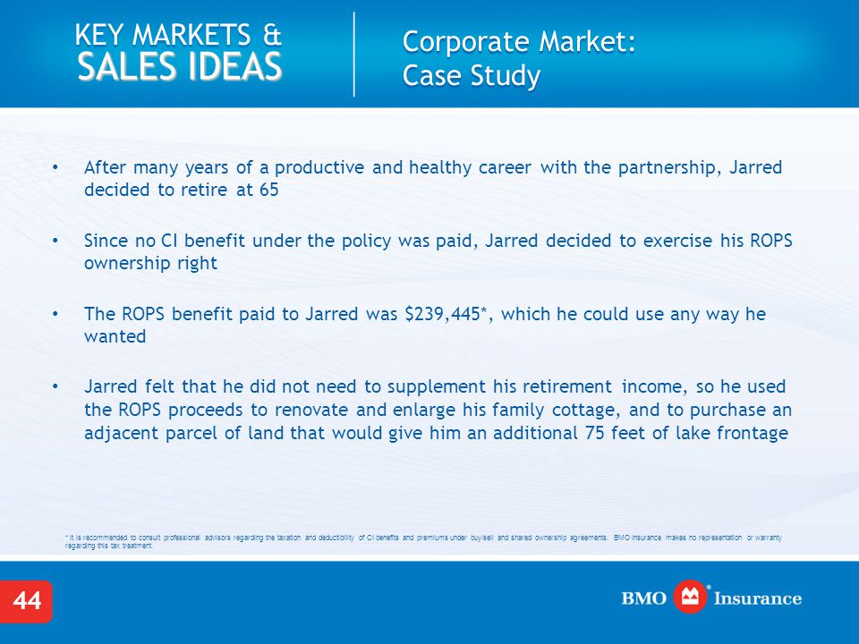 Critical Illness Insurance Key Markets And Sales Ideas Ppt Download Amazing Bmo Term Life Insurance Quote
