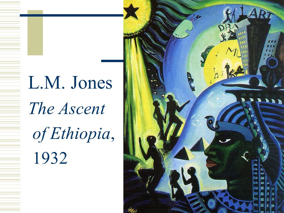 L.M. Jones The Ascent of Ethiopia, 1932