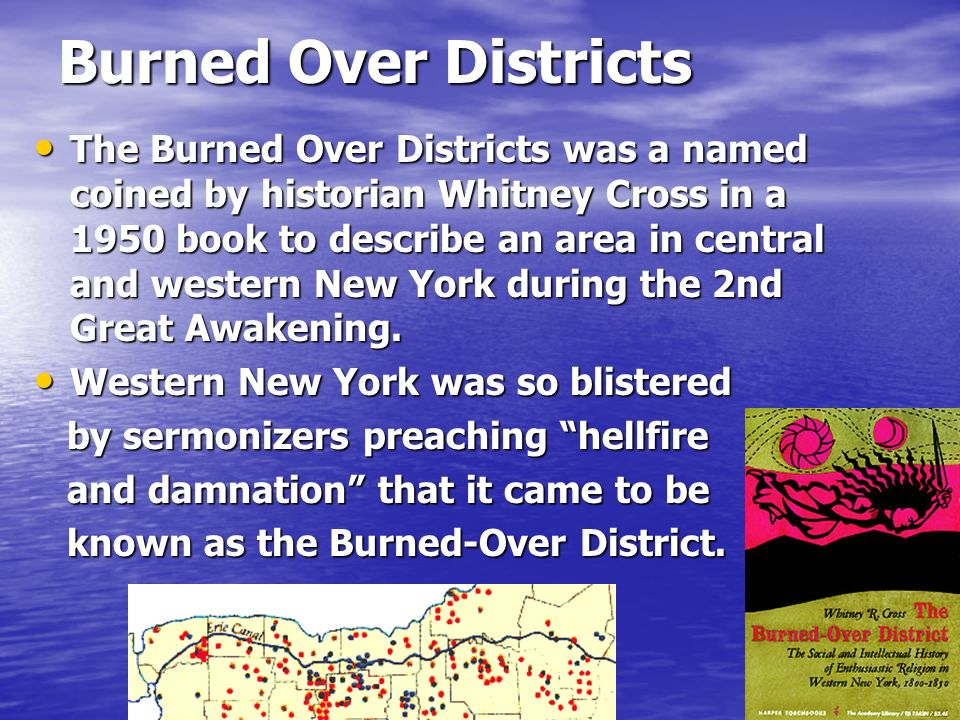 Burned Over Districts