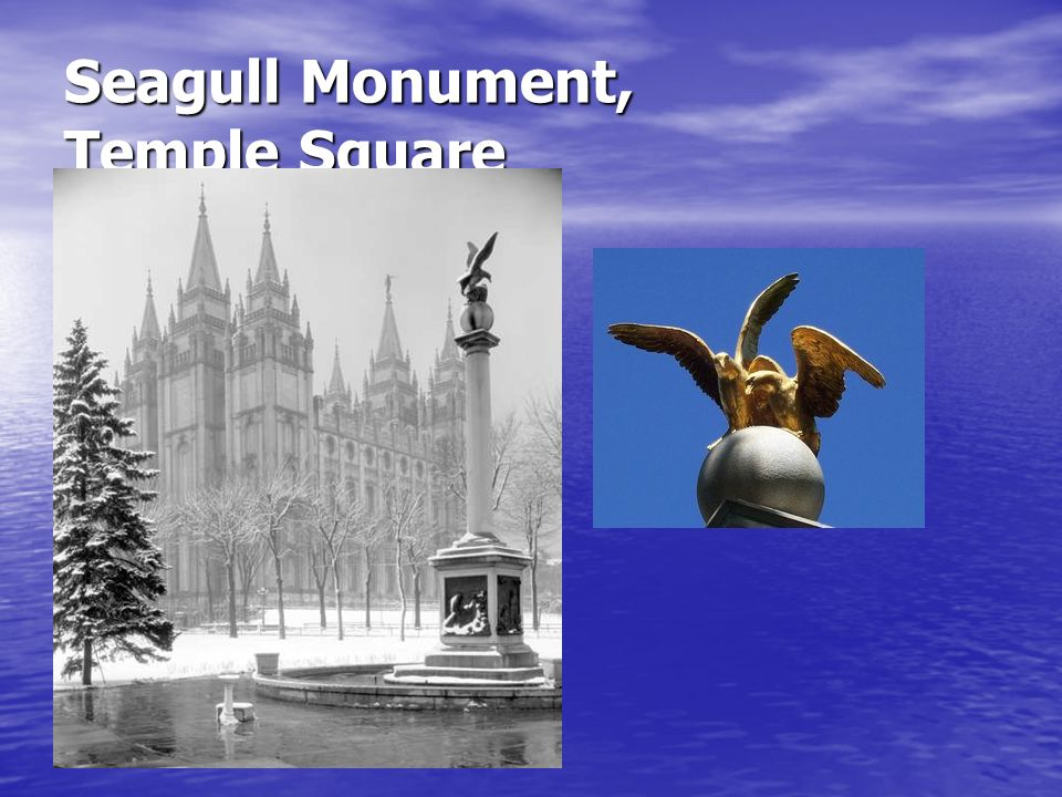 Seagull Monument, Temple Square