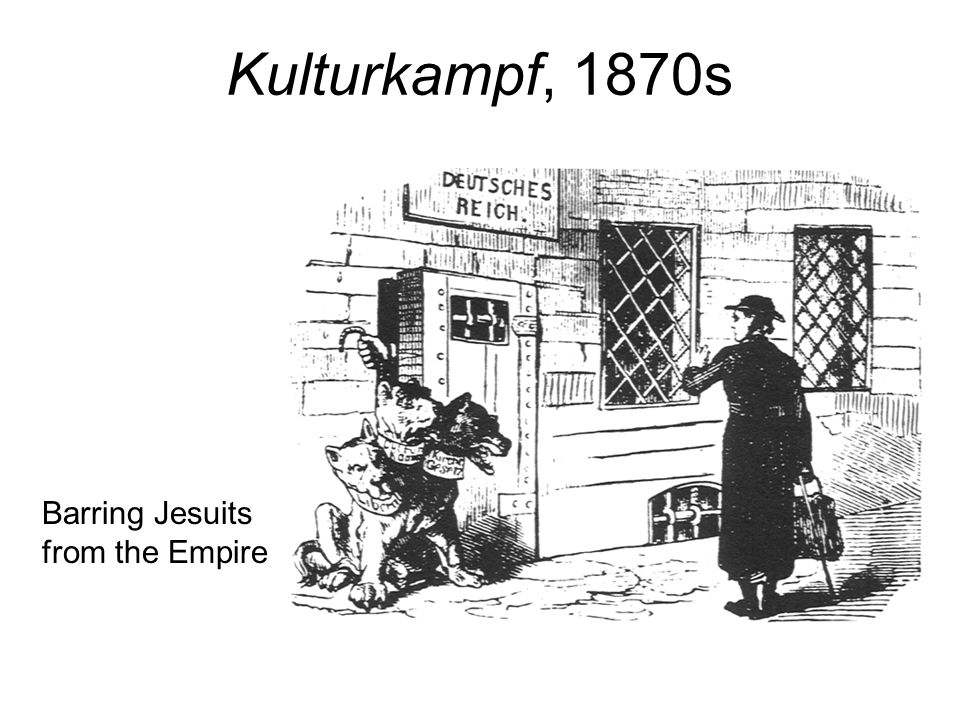 Kulturkampf, 1870s Barring Jesuits from the Empire 136