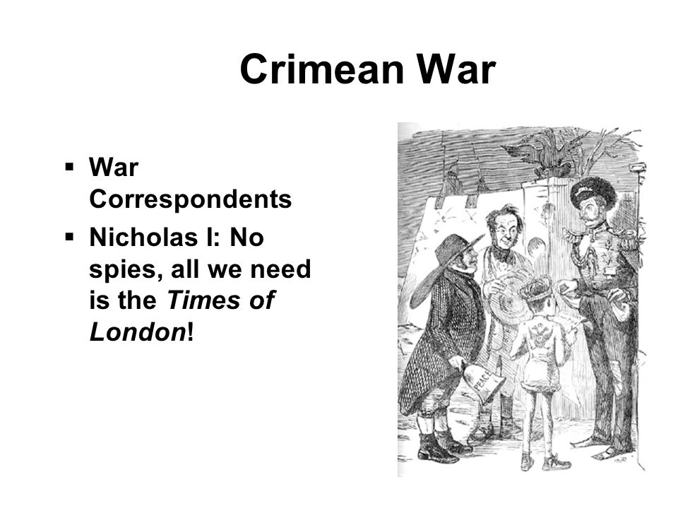 Crimean War War Correspondents