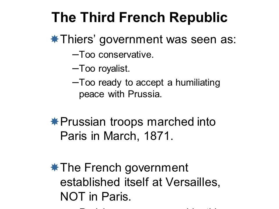 The Third French Republic