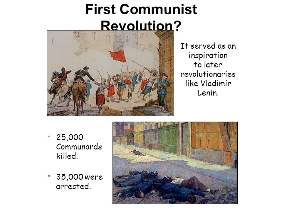 First Communist Revolution