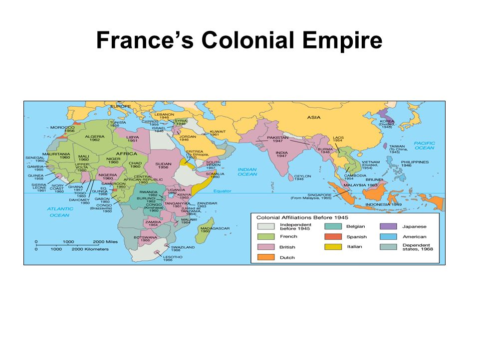 France's Colonial Empire
