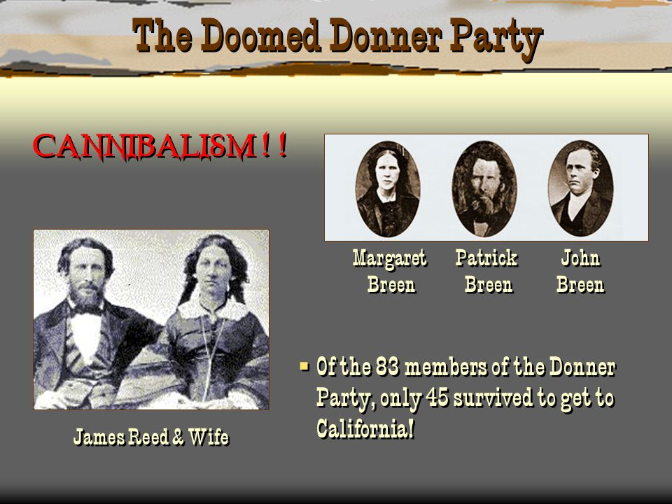 The Doomed Donner Party