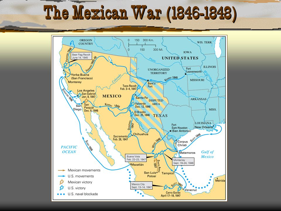 The Mexican War ( )