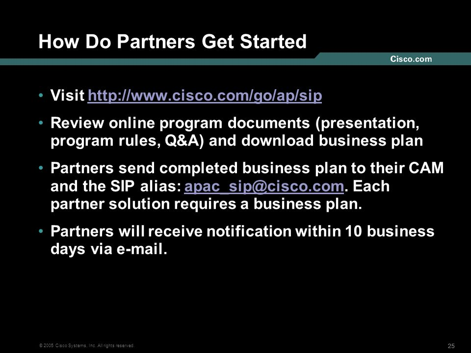How Do Partners Get Started