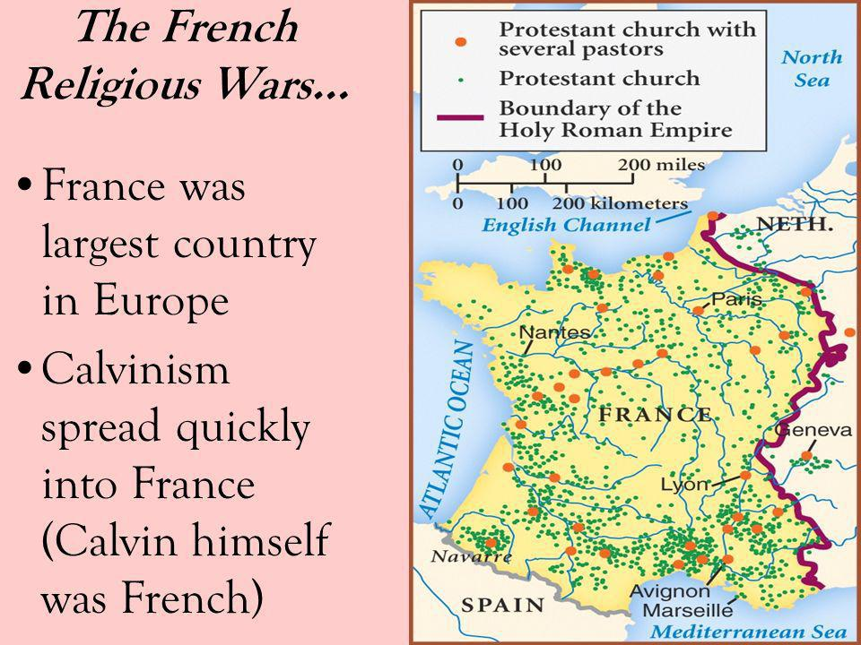 The French Religious Wars…
