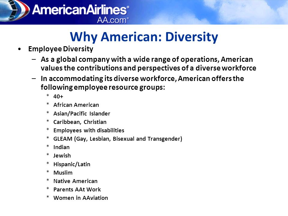 Why American: Diversity