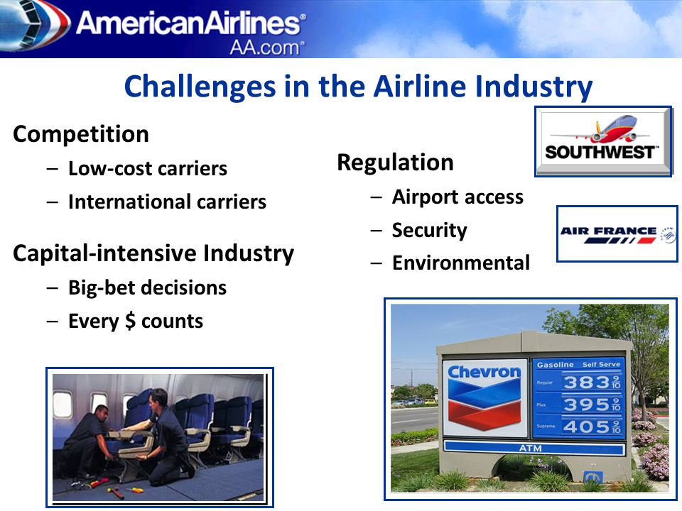 Challenges in the Airline Industry