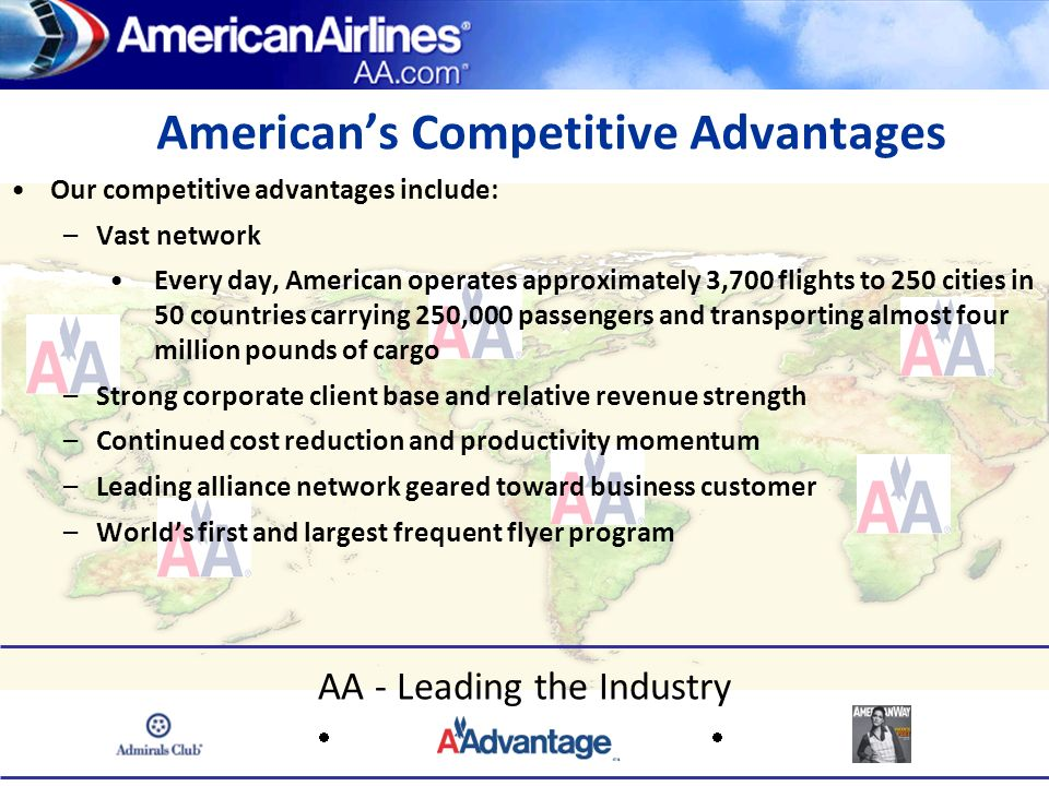 American's Competitive Advantages