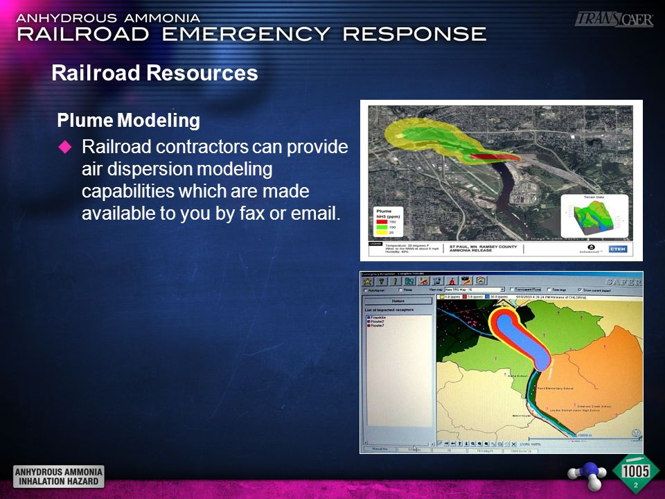 Railroad Resources Plume Modeling
