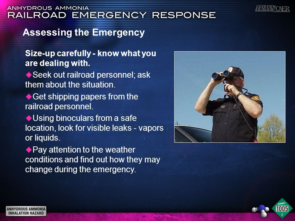 Assessing the Emergency