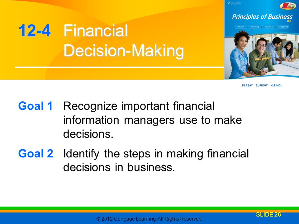 12-4 Financial Decision-Making