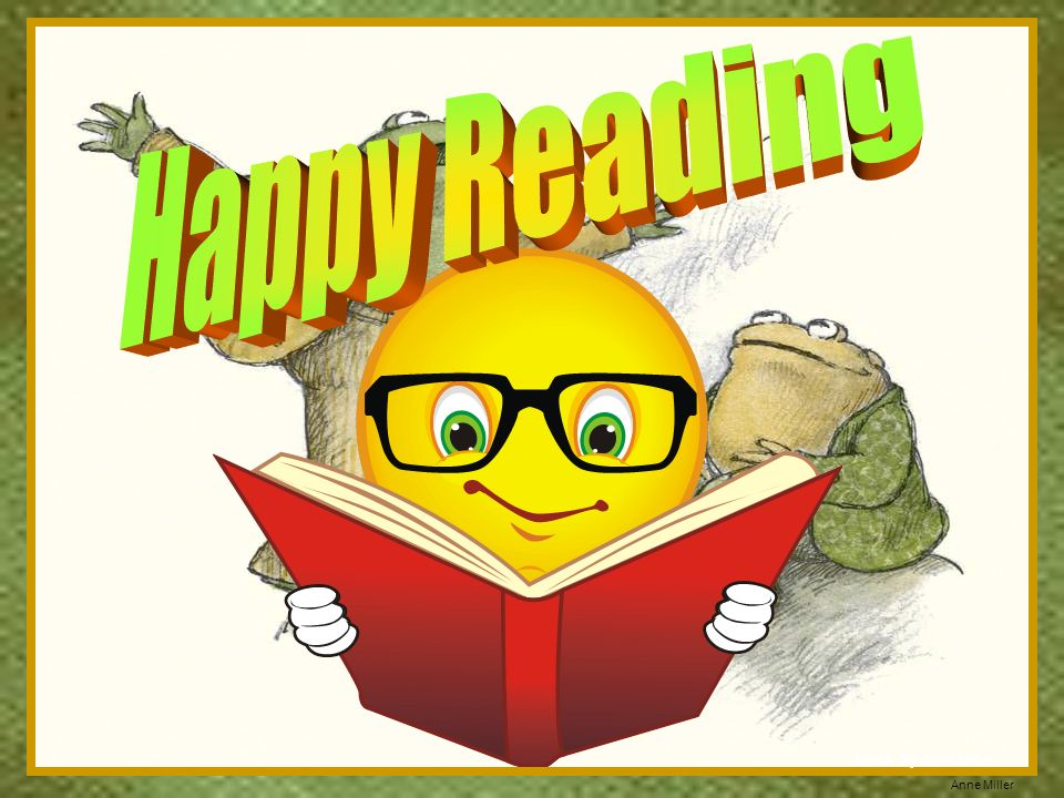 Happy Reading Tweak by Anne Miller