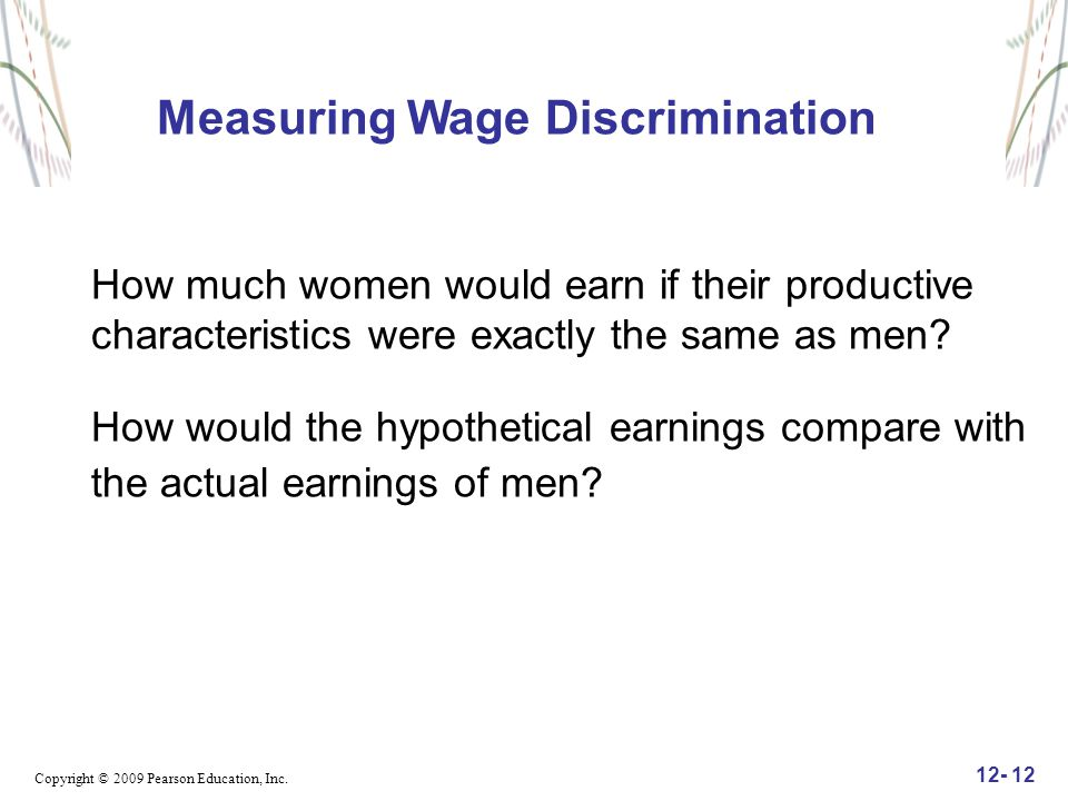 Measuring Wage Discrimination