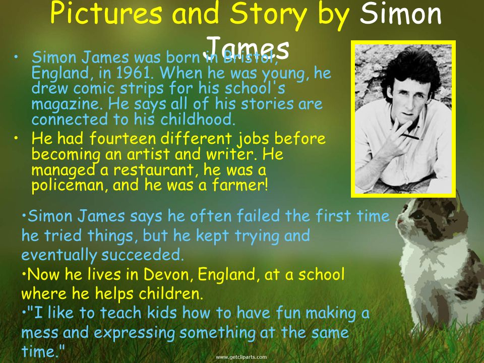 Pictures and Story by Simon James