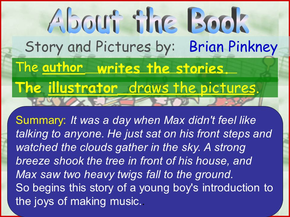 Story and Pictures by: Brian Pinkney