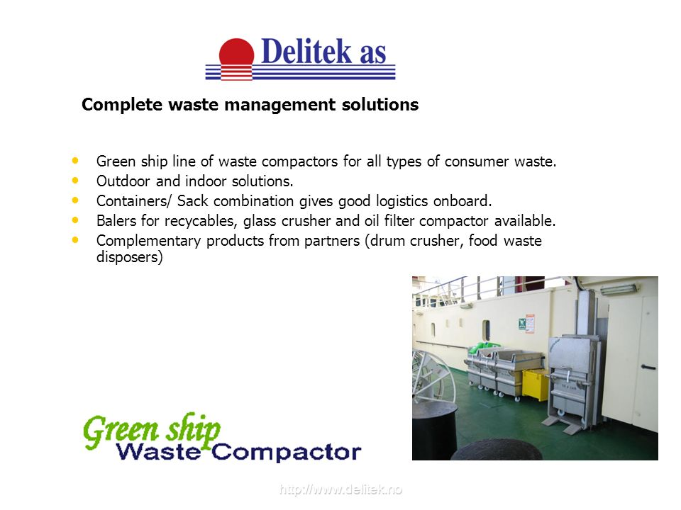 Complete waste management solutions