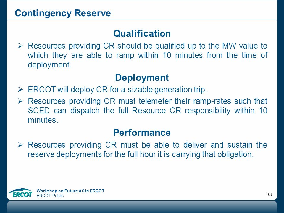 Qualification Deployment Performance