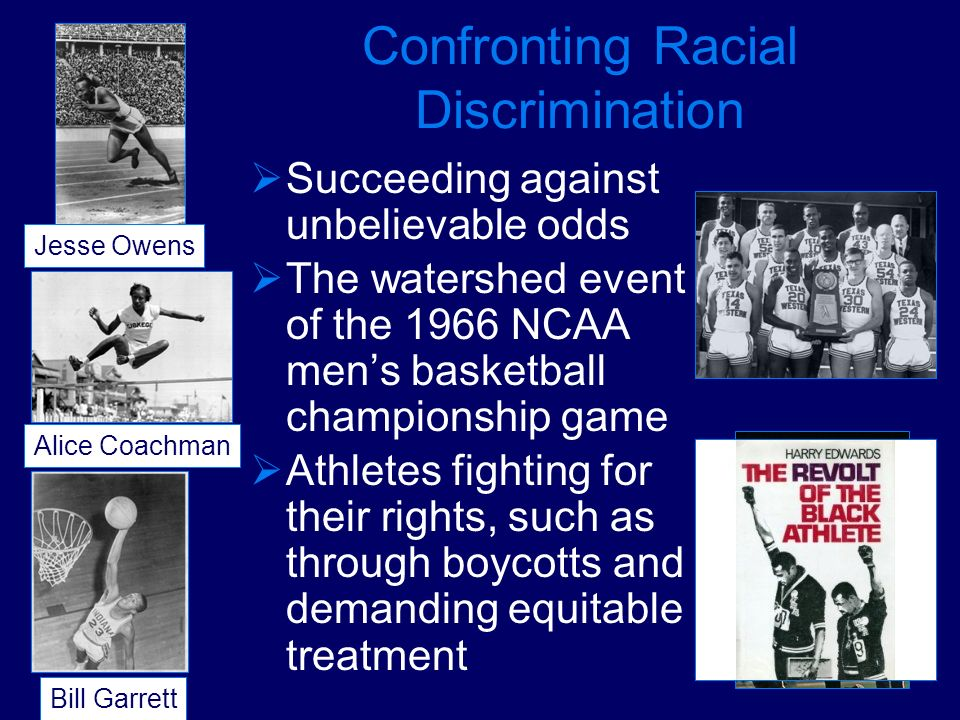 Confronting Racial Discrimination