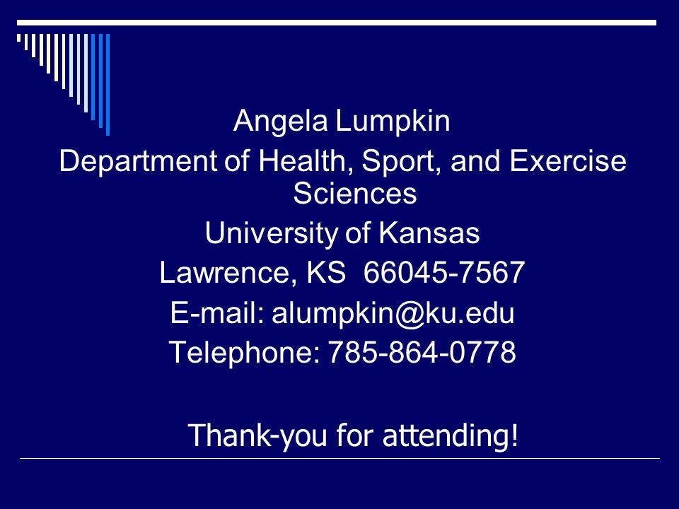 Department of Health, Sport, and Exercise Sciences