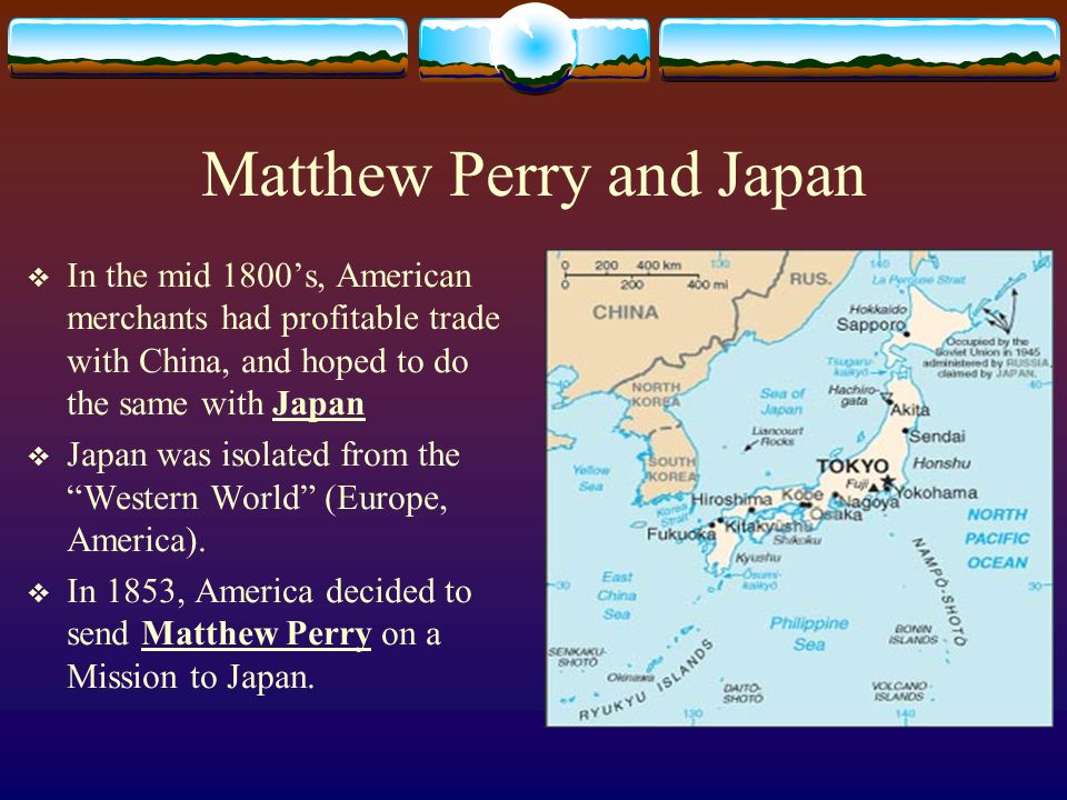 Matthew Perry and Japan