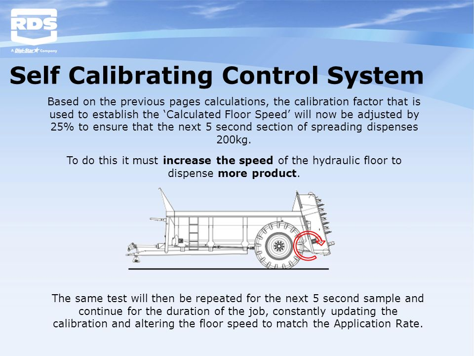Self Calibrating Control System