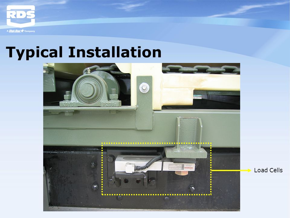 Typical Installation Load Cells