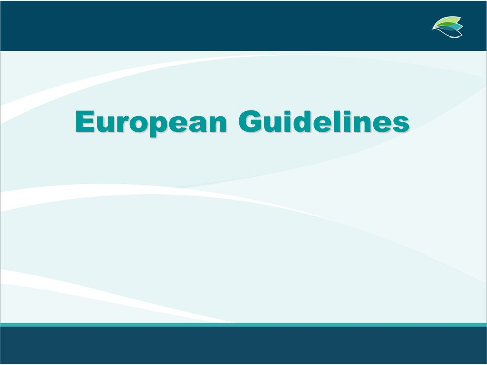 European Guidelines