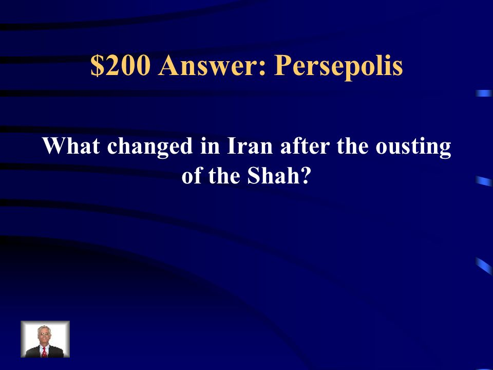 What changed in Iran after the ousting of the Shah