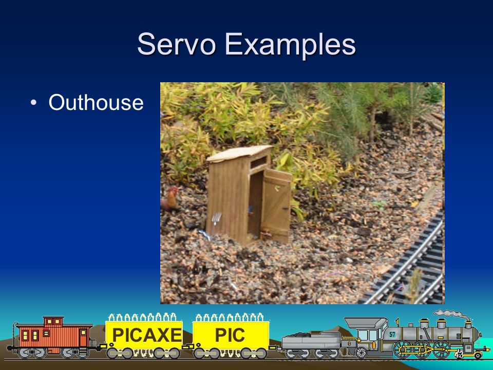 Servo Examples Outhouse