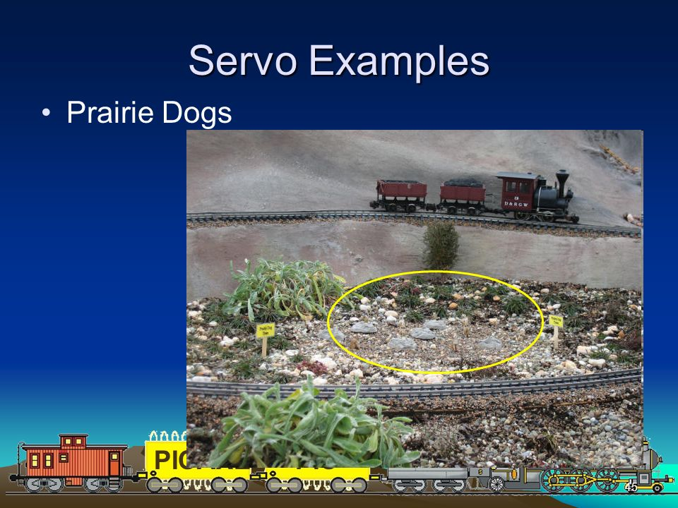 Servo Examples Prairie Dogs