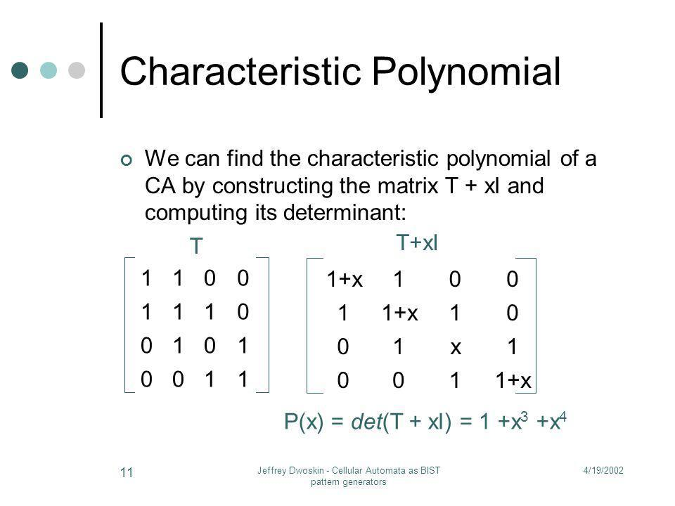 Characteristic Polynomial