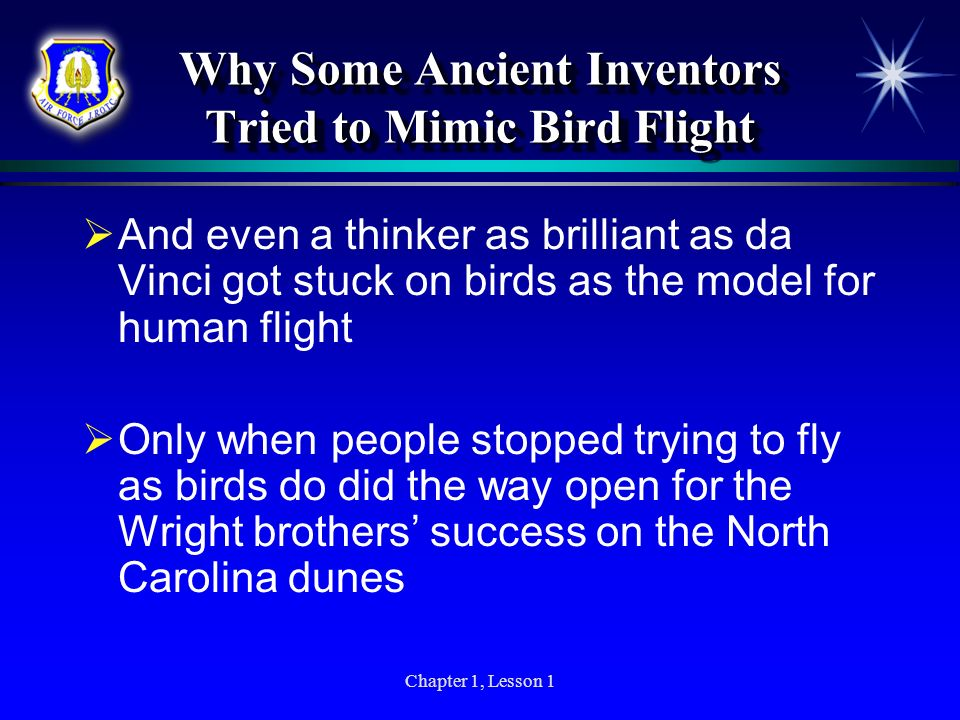 Why Some Ancient Inventors Tried to Mimic Bird Flight