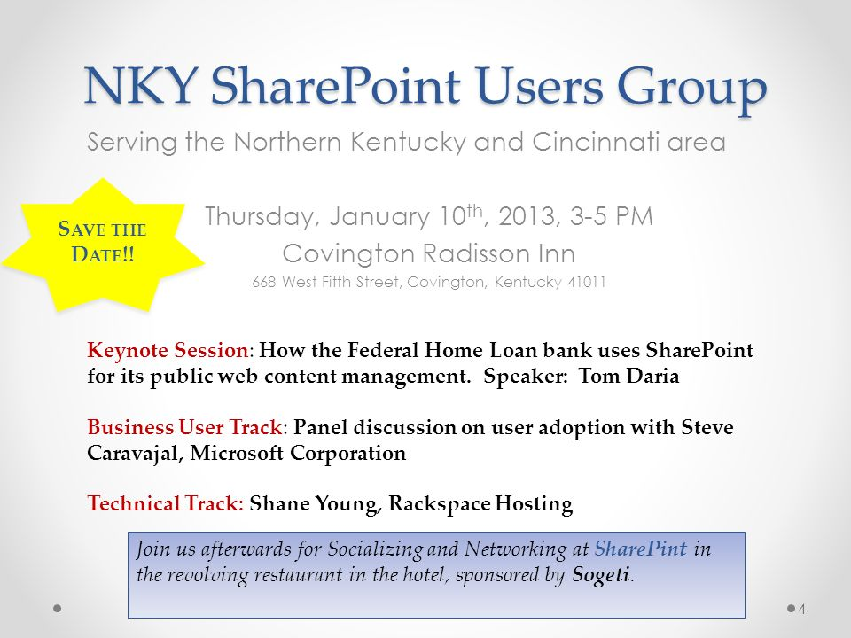 NKY SharePoint Users Group