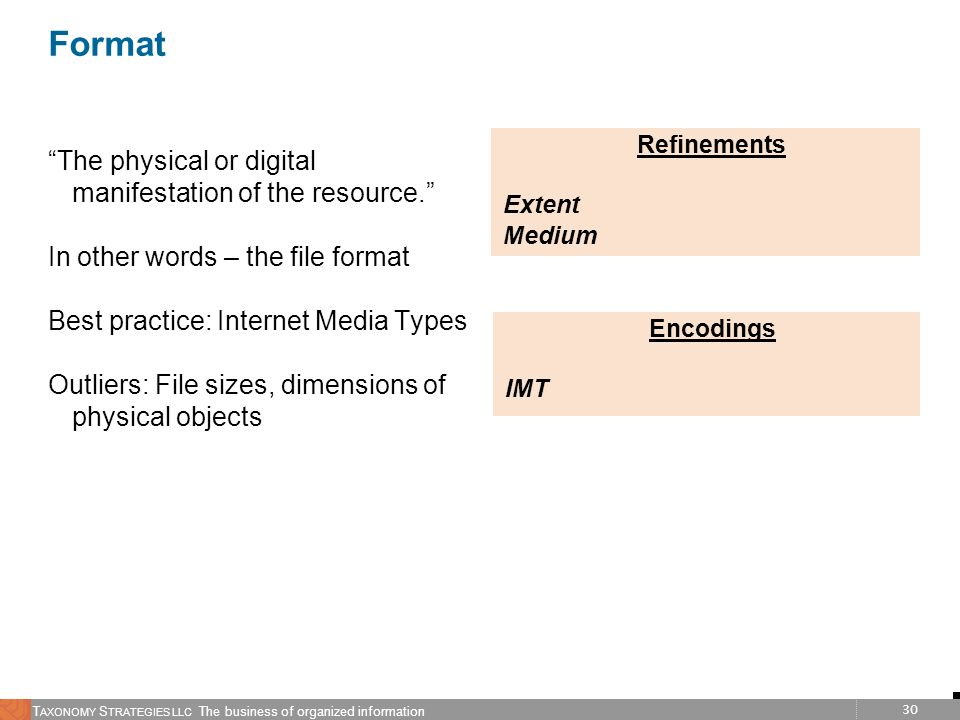 Format The physical or digital manifestation of the resource.