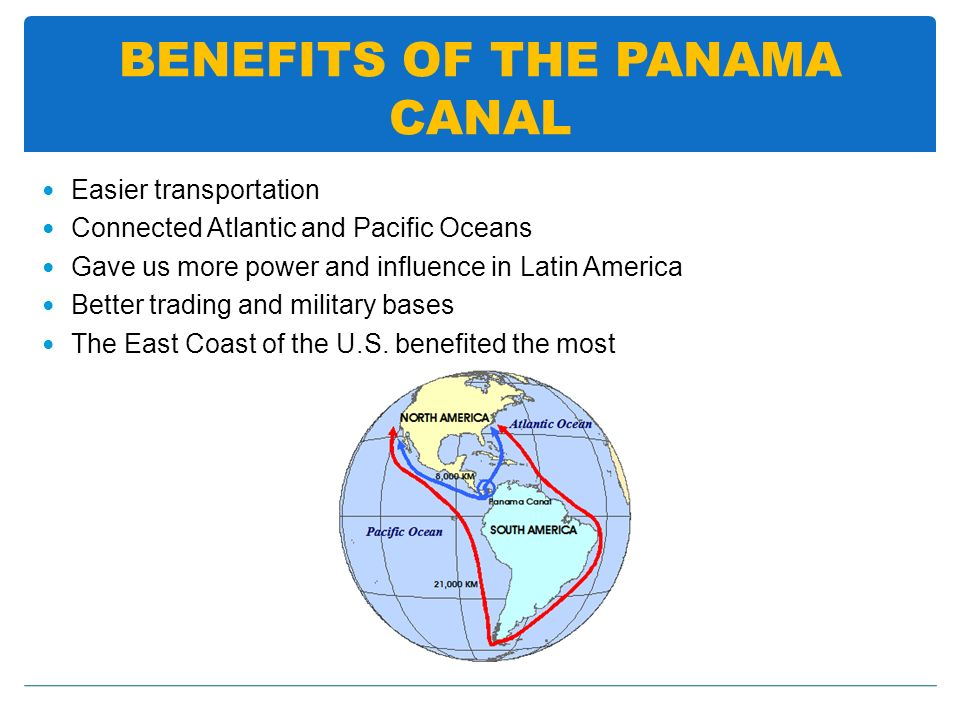 BENEFITS OF THE PANAMA CANAL