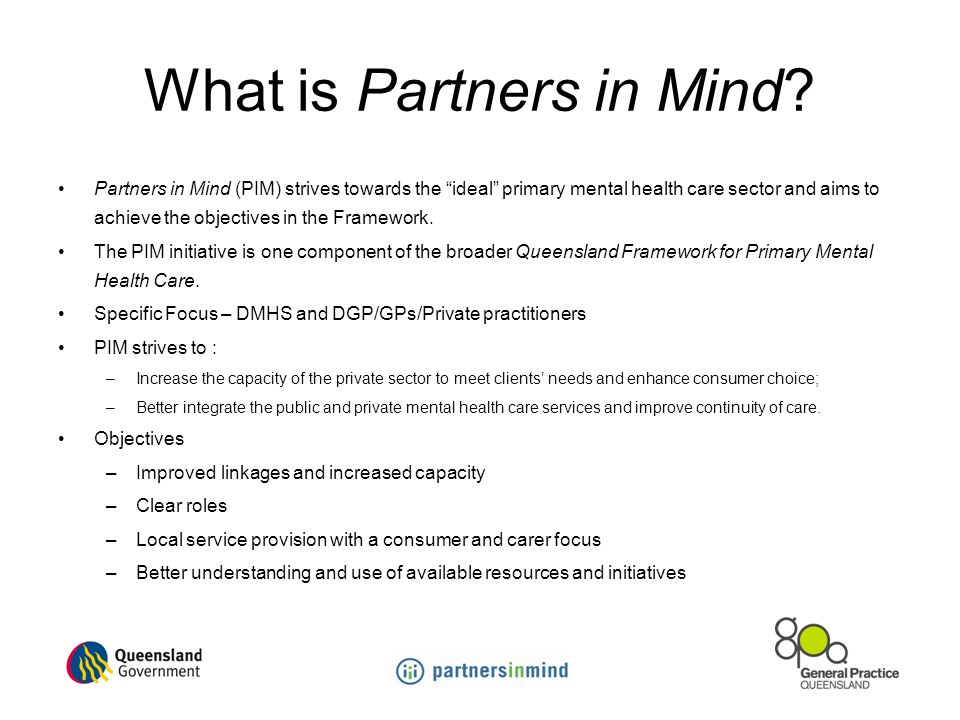 What is Partners in Mind