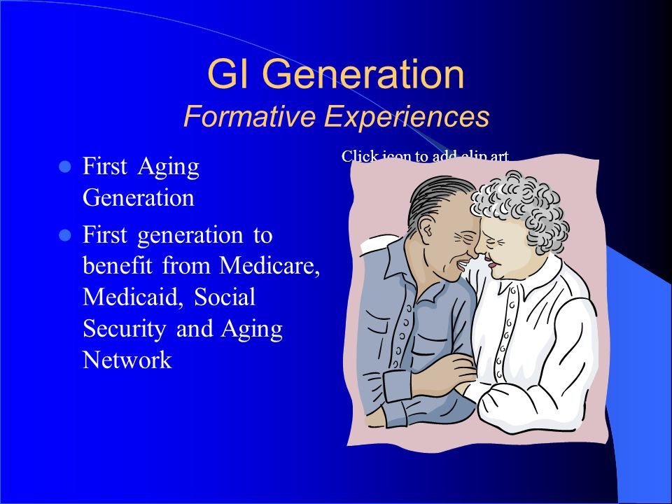 GI Generation Formative Experiences