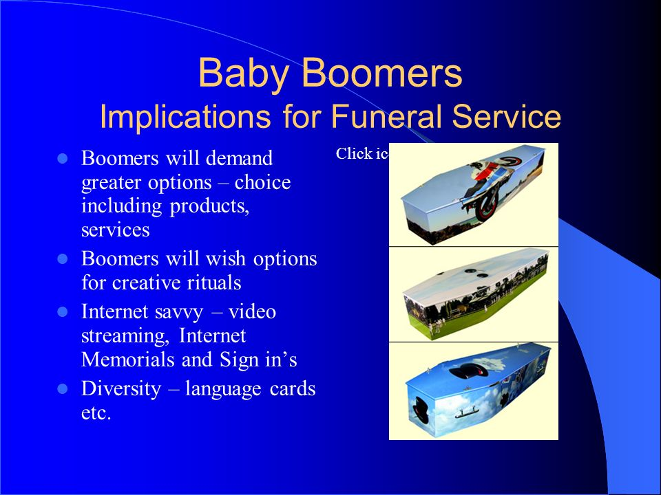 Baby Boomers Implications for Funeral Service