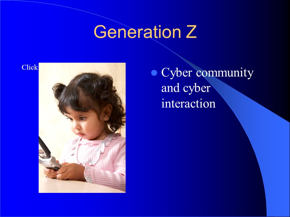 6565 Generation Z Cyber community and cyber interaction