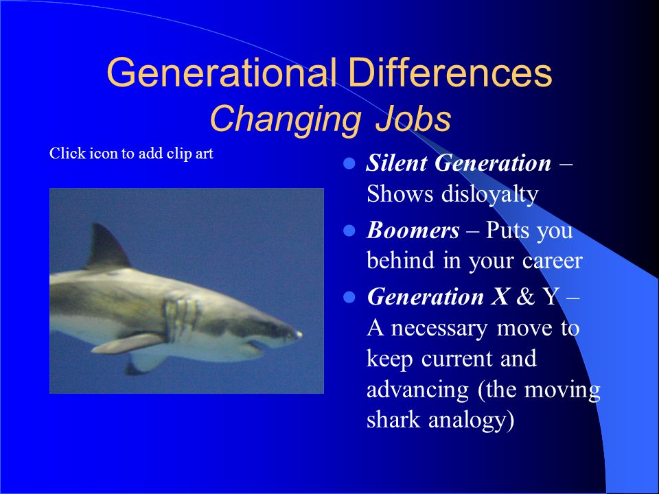 Generational Differences Changing Jobs