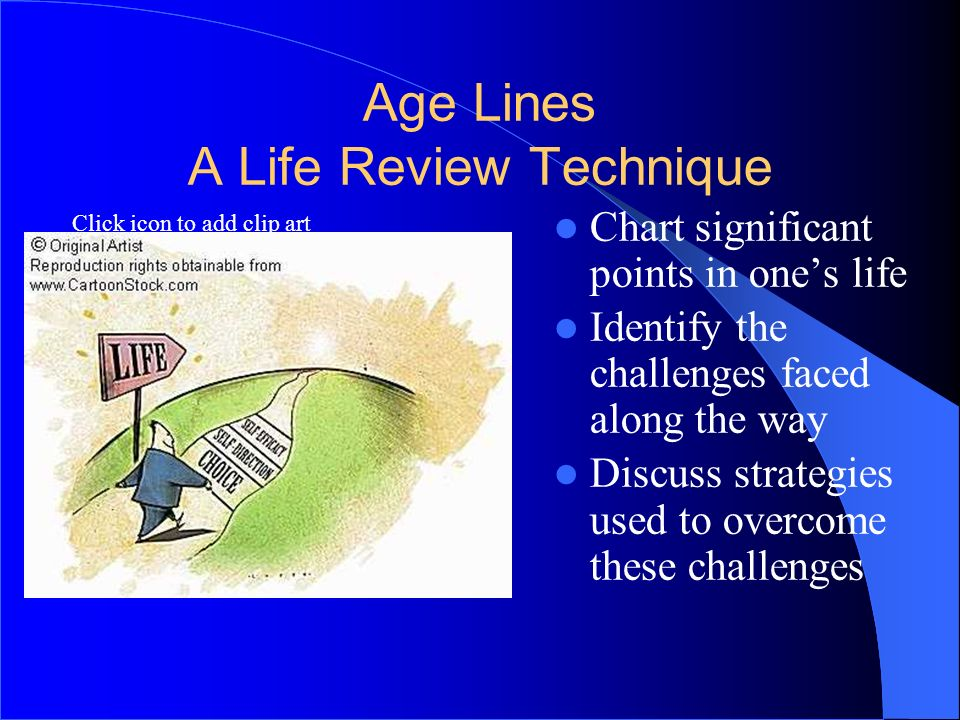 Age Lines A Life Review Technique
