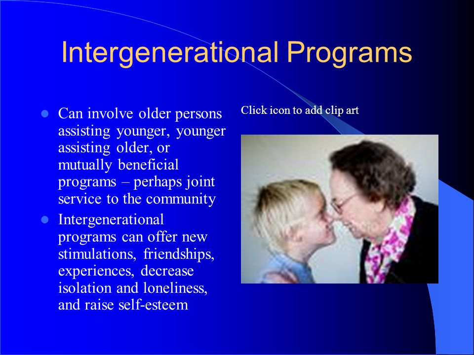 Intergenerational Programs